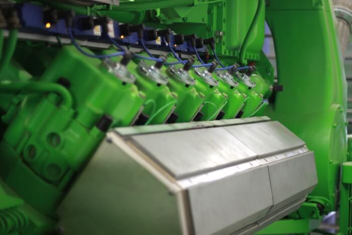 Газовият двигател Jenbacher работи със смазочните материали ADDINOL